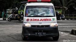 Viral Laju Ambulans Tertahan Saat Iringan Mobil Pejabat Melintas di Jakut