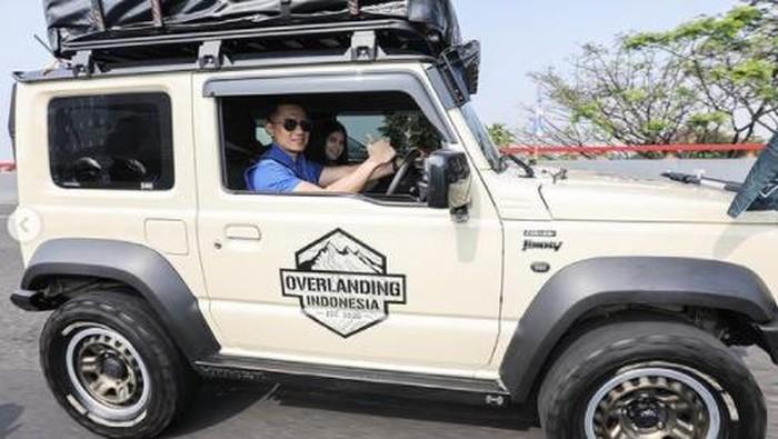 Agus Yudhoyono naik Suzuki Jimny