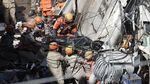 Bangunan Runtuh di Brasil Renggut Dua Nyawa