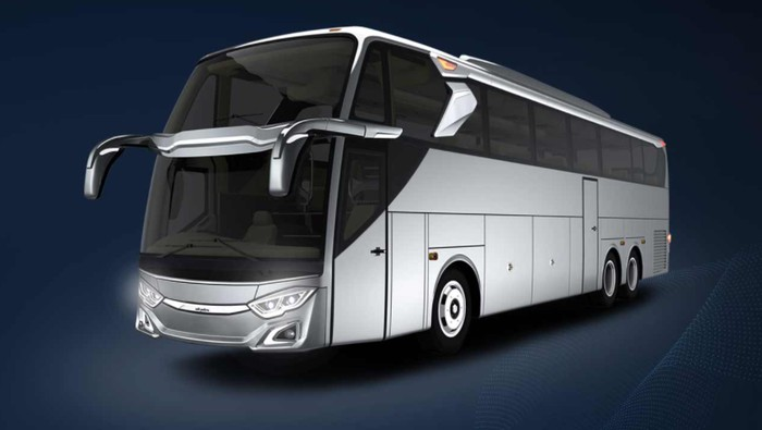 Bus double glass Adiputro Jetbus 3+ SHD