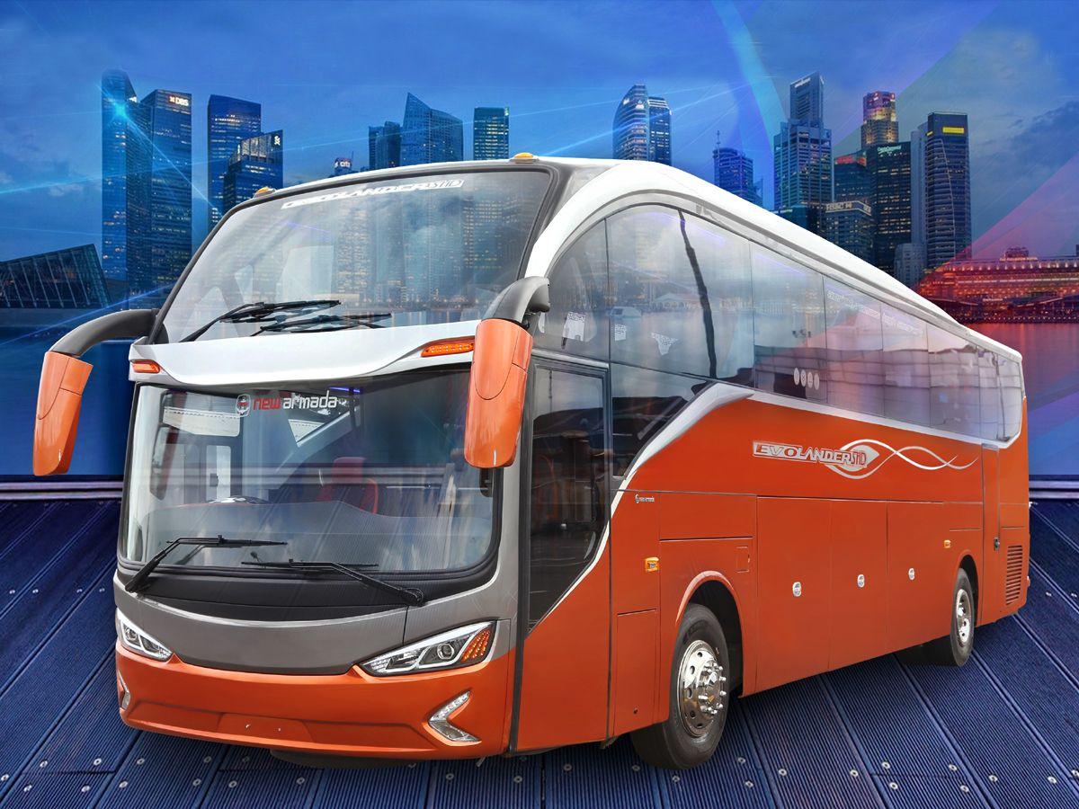 Bus double glass New Armada Evolander SHD