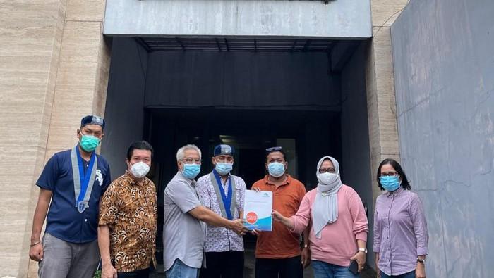 GMKI bertemu dengan Forum Nasabah Korban Jiwasraya (FNKJ).
