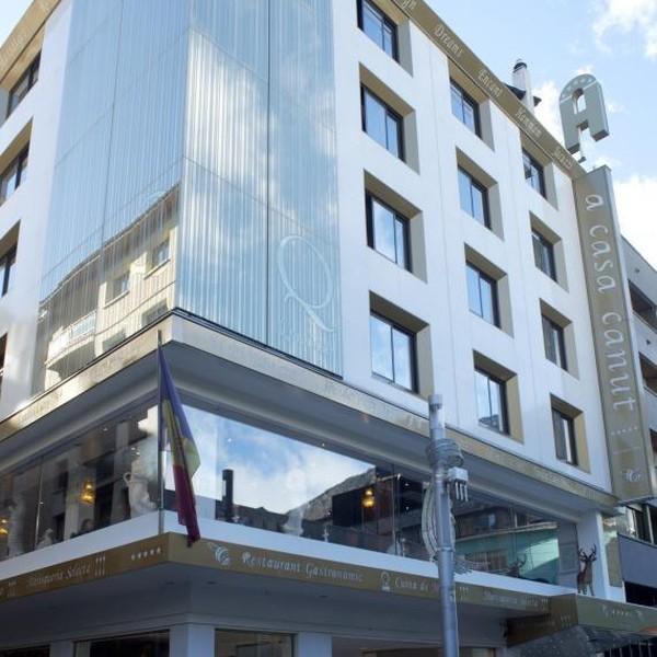 Hotel ini berada di Carlemany de Escaldes-Engordany, Andorra.(Internet/A Casa Canut)