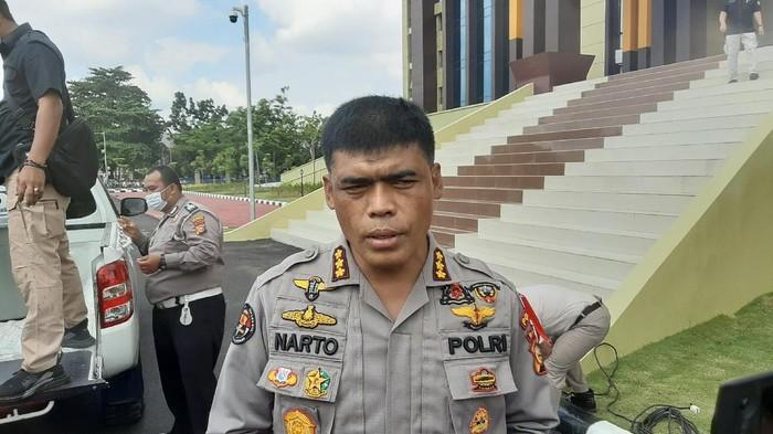 Kabid Humas Polda Riau, Kombes Sunarto (Foto: Raja Adil/detikcom)