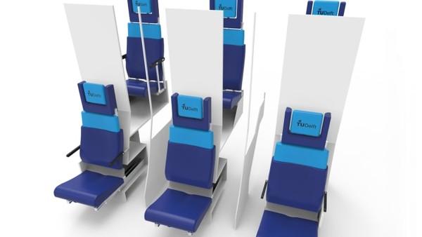 Desain kabin pesawat double decker ini akan bekerja dengan baik di pesawat Flying-V, yang saat ini sedang dikembangkan di TU Delft. Tapi dia mengatakan konsep itu juga bisa diimplementasikan di Boeing 747, Airbus A330 atau pesawat sedang hingga besar lainnya.