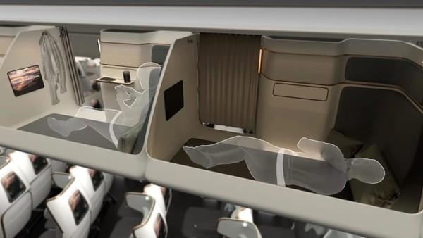 Idenya adalah penumpang dapat membeli tiket kursi ekonomi reguler. Kemudian, sebagai tambahan, mereka bisa membeli tiket akses ke CLOUD CAPSULE yang oleh Toyota Boshoku disebut ruang serbaguna bak kursi kelas bisnis.