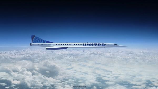 Pesawat yang dijuluki Overture itu dijadwalkan akan selesai pembangunannya pada tahun 2025, memulai penerbangan uji pada tahun 2026 dan membawa penumpang pada tahun 2029. United Airlines telah setuju untuk membeli 15 jet, dengan opsi pembelian tambahan sebanyak 35 buah.