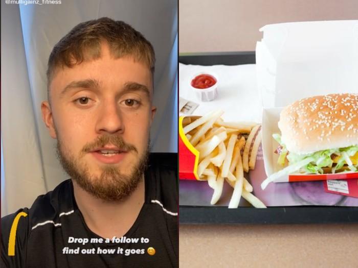 Makan Fast Food Setiap Hari, Pria Ini Berat Badannya Tetap Bisa Turun