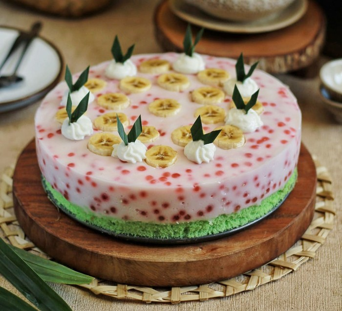 Resep Cake Pandan Cantik Manis