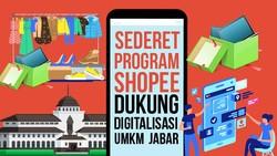 Percepat Digitalisasi UMKM, Pemprov Jabar-Shopee Bangun Shopee Center