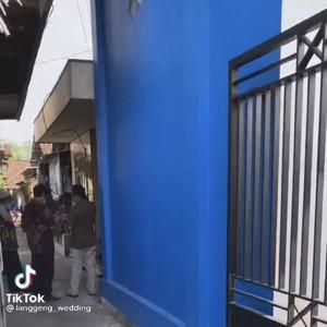 Kisah Lengkap Dekorasi Pernikahan di Gang Sempit Viral Mewah bak di Gedung