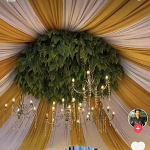 Viral Pernikahan di Gang Sempit Bak di Gedung Mewah, Bikin Takjub
