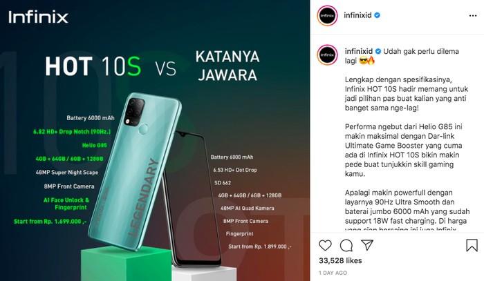 Xiaomi vs Infinix