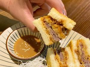 Yuukatsu: Krenyes Gurih! Sandwich Isi Beef Katsu seharga Rp 175 Ribu