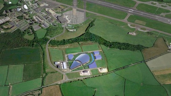 Blue Abyss akan dibangun di Cornwall, Inggris.(Blue Abyss)