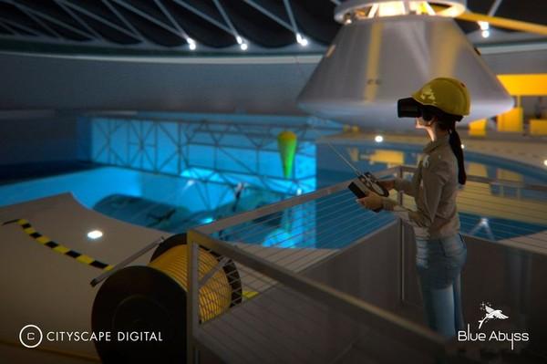 Blue Abyss akan digunakan sebagai fasilitas pelatihan astronot hingga latihan robot bawah laut. (Blue Abyss)