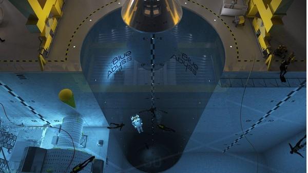 Saking dalamnya, Blue Abyss juga akan menjadi aset penelitian di Cornwall. (Blue Abyss)
