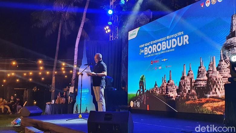 Citilink Hidup Sehat Series 2021 di Borobudur