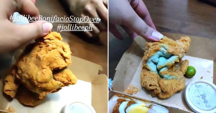 Dikira Fried Chicken, Ternyata 'Makanan' Ini Handuk Goreng Tepung!