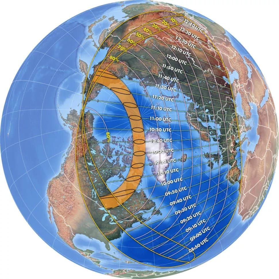 Fenomena langkah berupa Gerhana Matahari Cincin Api akan terjadi pada 10 Juni 2021.