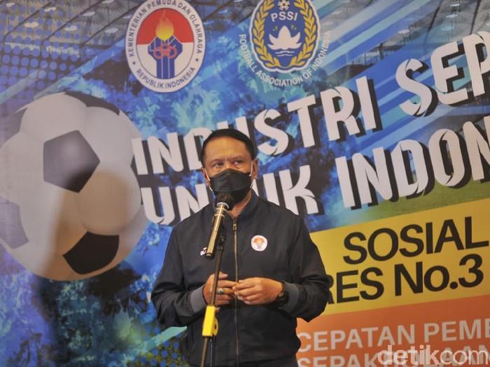 Menpora Zainudin Amali menyatakan, Timnas Sepak Bola Indonesia mulai menunjukkan hasil positif di bawah kepelatihan Shin Tae-Yong. Ia menargetkan Timnas meraih emas Sea Games 2021.