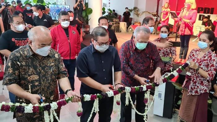 Pembukaan pameran seni Akara di DPD PDIP Yogyakarta