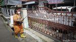 Potret Penerapan Lockdown Mikro di RT 11 Kayu Putih Jaktim