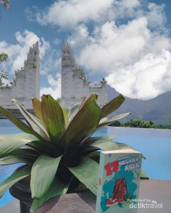 Spot terpopular di Kirana Resort, serasa sedang berada di Lempuyang Temple BALI