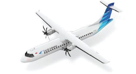 ATR 72-600 Garuda Indonesia