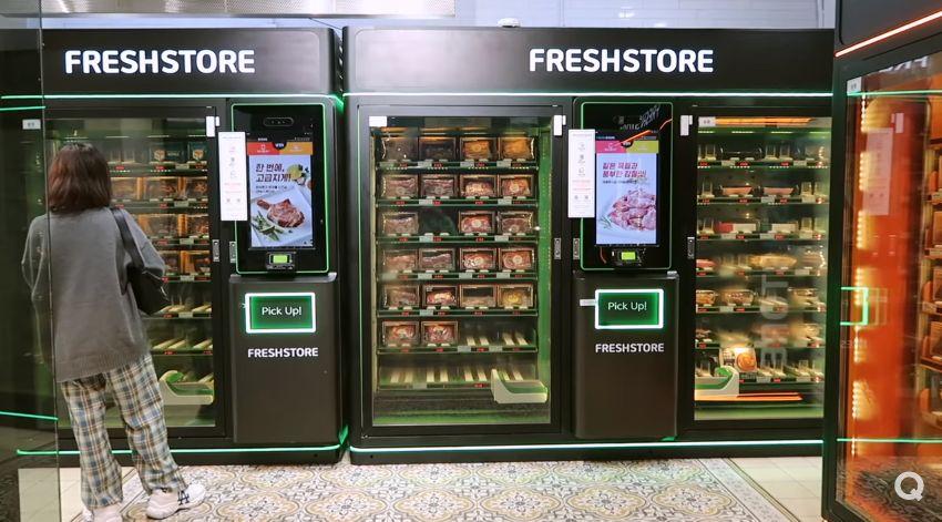Cicip Makanan Vending Machine Korea 24 Jam