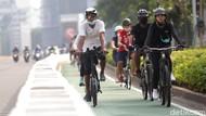 Dishub DKI Harap Proyek Jalur Sepeda Tak Kena Refocusing Anggaran