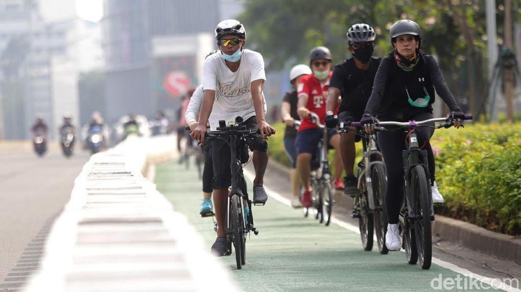 Ibu Kota Bakal Punya Jalur Sepeda 170 Km Tahun Ini
