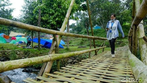 Foto: Andhika PrasetiaAnda tidak perlu ribet membawa perlengkapan camping.