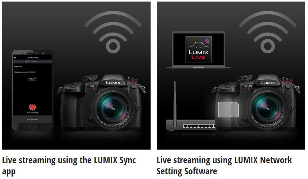 kamera Panasonic Lumix GH5 II