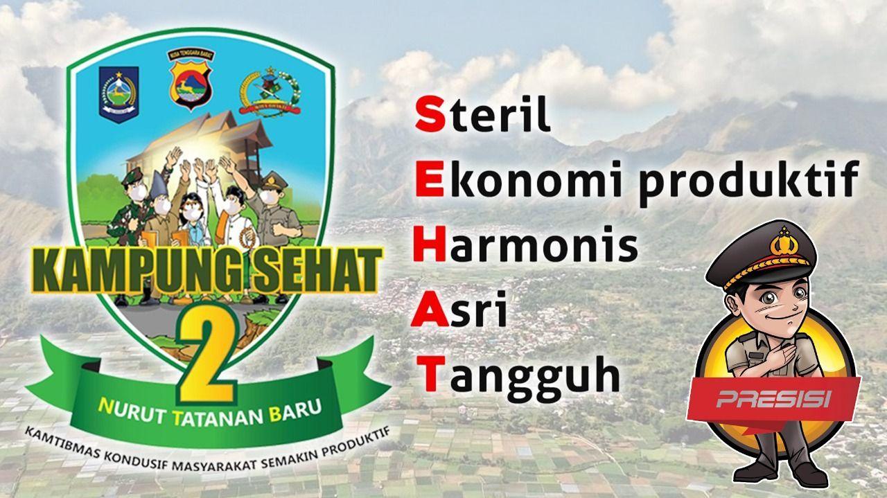 Logo Kampung Sehat Polda NTB