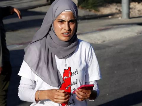 Muna el-Kurd, aktivis Palestina yang ditangkap polisi Israel