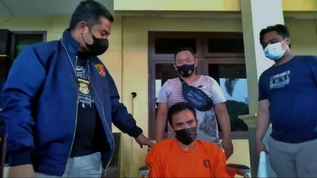 Pria yang Paksa Istri Minum Air Kencing-Sundut Rokok ke Wajah Ditangkap!