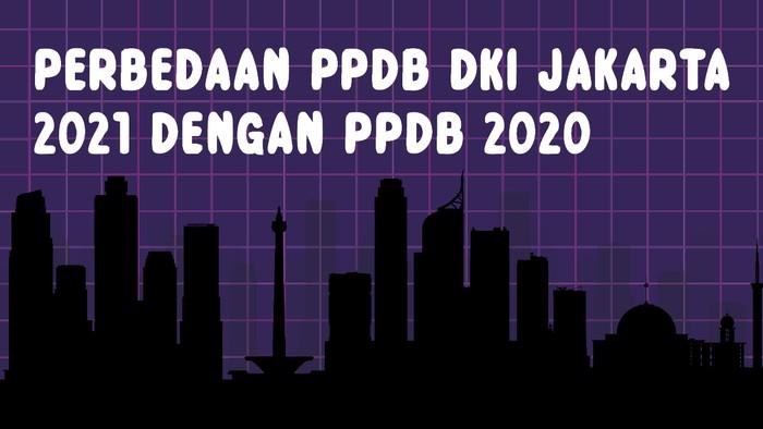 Perbedaan PPDB DKI Jakarta 2021 dengan 2020