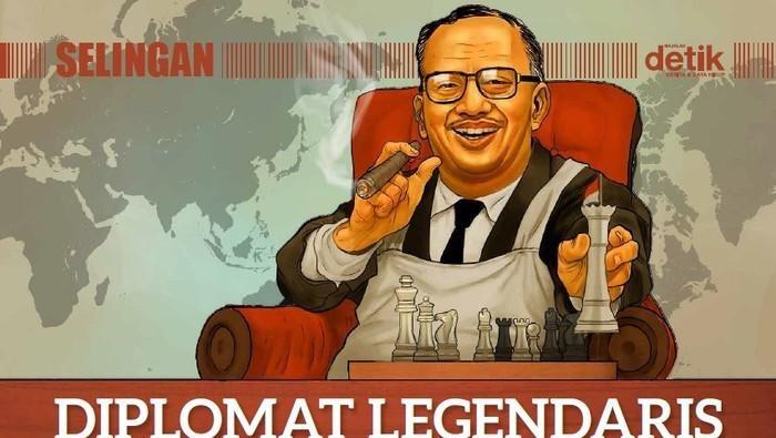 Mantan Menlu Prof Mochtar Kusumaatmadja