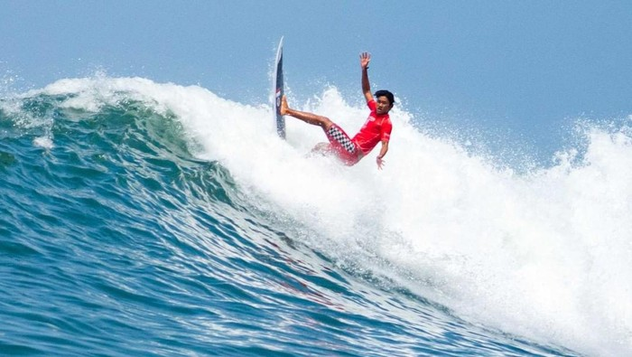 Peselancar nasional, Rio Waida, lolos ke Olimpiade Tokyo 2020 cabang surfing.
