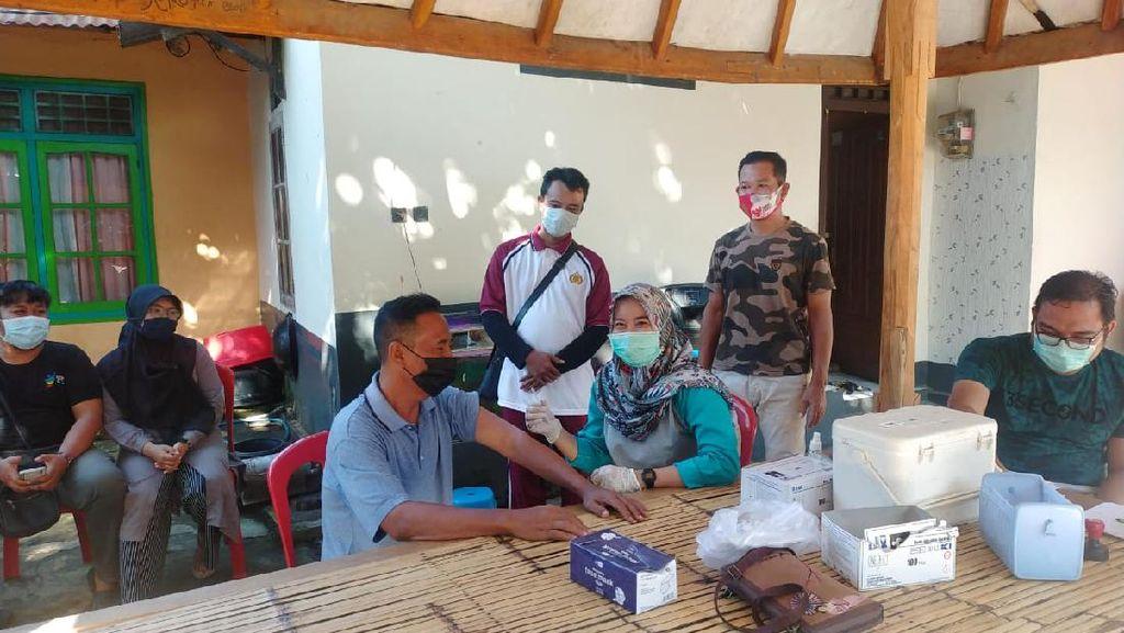Polresta Mataram Vaksinasi 131 Lansia dalam 1 Hari