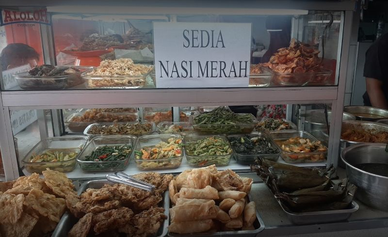 Warteg Enak di Bogor
