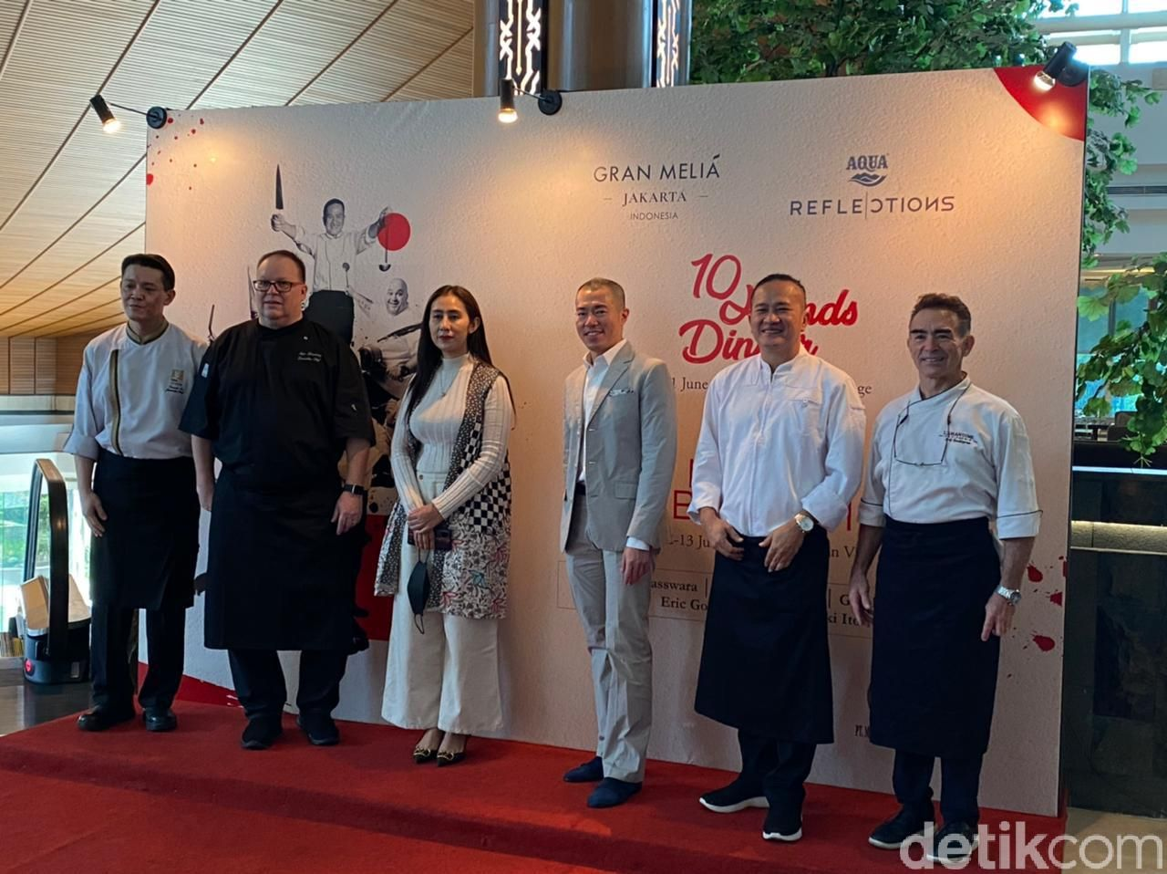 5 Chef Kenamaan Berkolaborasi Sajikan '10 Hands Dinner' Hanya Semalam