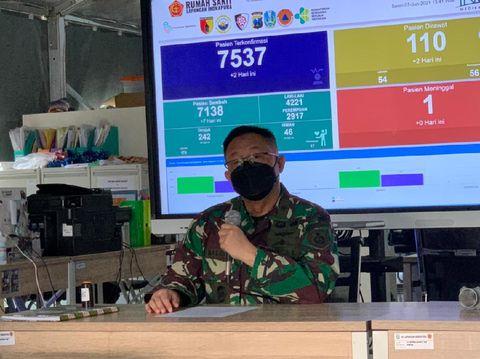 Laksamana Pertama TNI dr I Dewa Nalendra Djaya Iswara selaku Penanggungjawab RSLI