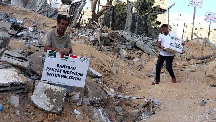Pengurus Pusat (PP) NU Care-LAZISNU kembali menyalurkan bantuan untuk warga Palestina. Kini bantuan itu telah sampai di lokasi dan diterima warga Palestina.