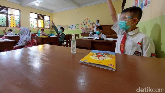 Belasan TK-SD di Cimahi kembali menggelar simulasi PTM