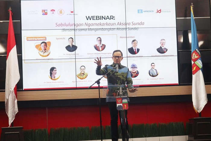Bima Arya Dorong Aksara Sunda Go Digital