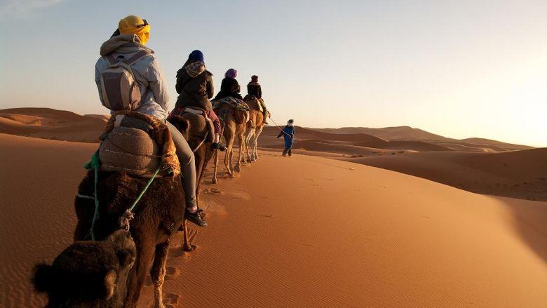 Gurun Sahara di Maroko