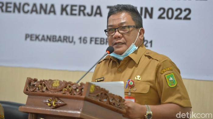 Kadis Kominfotik Riau, Chairul Riski