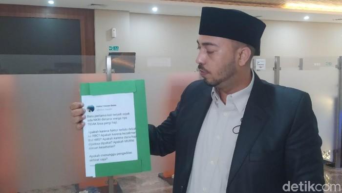 Ketua Cyber Indonesia Husin Shihab (Adhyasta Dirgantara/detikcom)